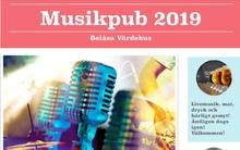 Musikpub på Bolåsa värdshus., 23 november 2019