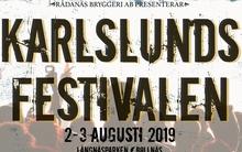 KARLSLUNDSFESTIVALEN, Fredag 2 augusti - Lördag 3 augusti 2019