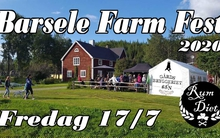 Barsele Farm Fest kl19-, 17 juli 2020