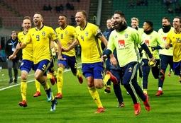 Picture of Fotboll Landskamper herrar